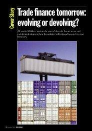 Trade Finance Tomorrow: Evolving or Develoving? - OPUS Advisory ...
