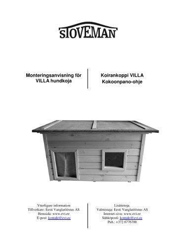 Asennusohjeet (ruotsi/suomi) - Netrauta.fi