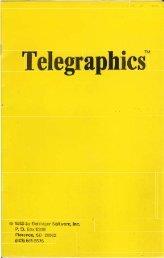 Telegraphics (Derringer Software).pdf - TRS-80 Color Computer ...
