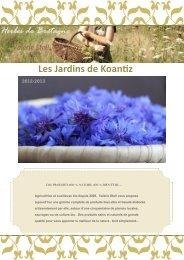Les Jardins de Koantiz - Bienvenue à la Ferme
