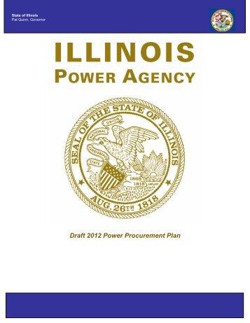 Draft 2012 Power Procurement Plan - State of Illinois