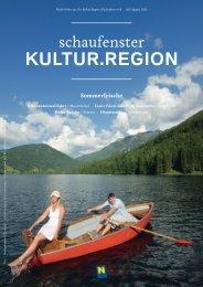 Kultur.region - Museen & Sammlungen