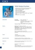 TUFLIN® Plug Valve - SAIDI - Page 6