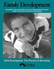 Child Development: The Process of Becoming - College of Education