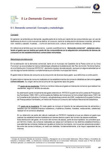 5 La Demanda Comercial - Pateco