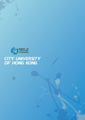 City University of Hong Kong - Knowledge Exchange Conference ...
