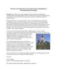 Master's Student Handbook - College of Education - Auburn University
