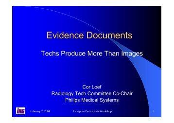 Evidence Documents