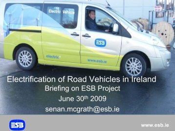 Electrification of Road Vehicles in Ireland