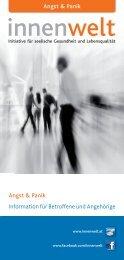 Information für Betroffene und Angehörige Angst & Panik Angst ...