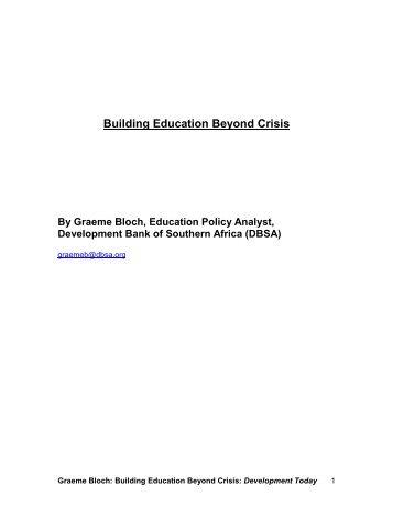 Building education beyond crisis.pdf