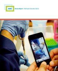 Horizon Report for Higher Education - McGill University