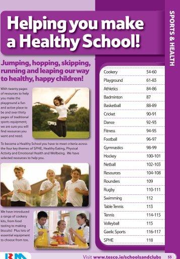Sports & Health - Tesco