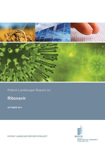 Patent Landscape Report on Ritonavir - WIPO