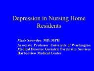 Minor Depression - PASRR Technical Assistance Center