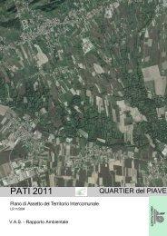 VAS - Rapporto Ambientale - Comune di Pieve di Soligo