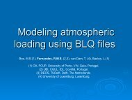 Modeling atmospheric loading using BLQ files - ITRF
