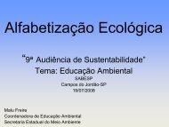 Ecoalfabetização - Malu Freire - Sabesp