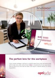 The perfect lens for the workplace - Optiswiss AG