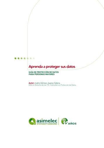 Guía de Protección de Datos para personas mayores - Agencia ...