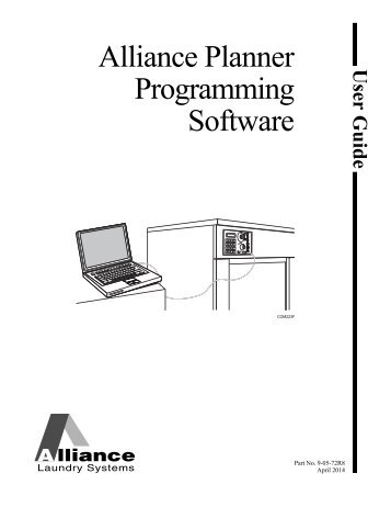 User Guide for Alliance Planner Programming Software - UniMac