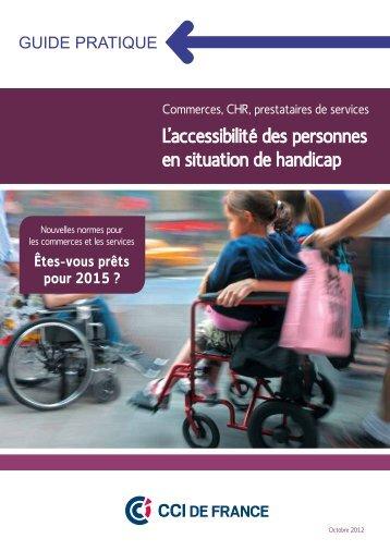 L'accessibilité des personnes en situation de handicap
