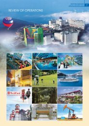 REVIEW OF OPERATIONS - Genting Group