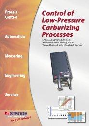 Control of low-pressure carburizing processes - Stange Elektronik ...