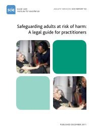 Safeguarding adults at risk of harm: A legal guide for practitioners