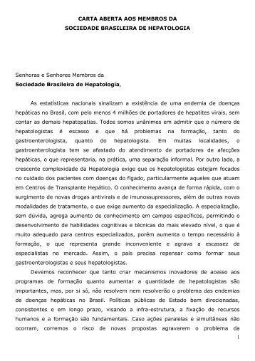 Flair José Carrilho - Sociedade Brasileira de Hepatologia