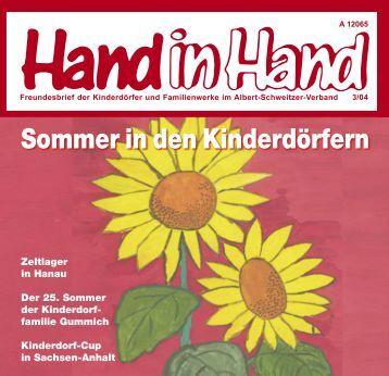 Sommer in den Kinderdörfern - Albert-Schweitzer-Verband