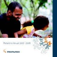 Relatório Anual 2007 -2008 - Promundo