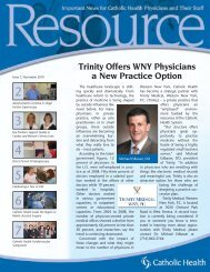 Trinity Offers WNY Physicians a New Practice Option