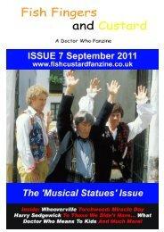 The Story So Far… - Fish Fingers and Custard Fanzine