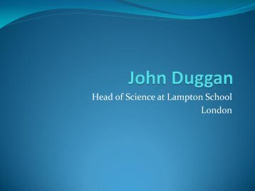 Science education in the UK - British Council Schools Online