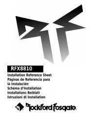 RFX8810 (8-Disc CD Changer)