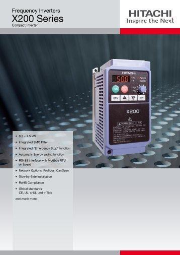 Hitachi Europe GmbH - X200