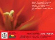 raccolta rifiuti zona ROSSA - Comune di Treviglio