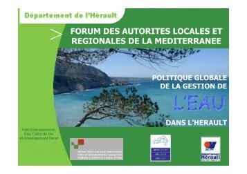 Louis Calmels - Commission Méditerranée de CGLU