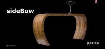 sideBow - KATTER_furniture, Jiri M.R. Katter