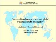 What is culture? - GWS Netzwerk