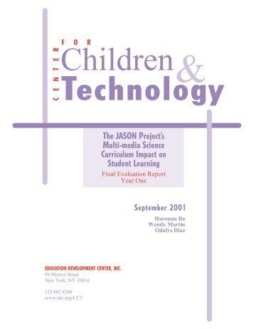 CCT Cover 10/17 (color) - Center for Children & Technology ...