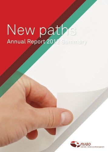 Annual Report 2012 Summary - NVAO