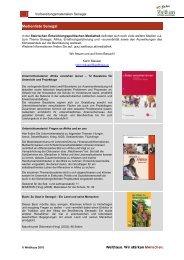 Medienliste Senegal - Welthaus Graz