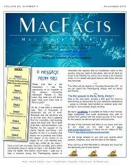 November 2010 - Mac Help Desk