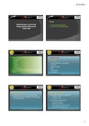 Presentatie 20121018 adviezen clubs