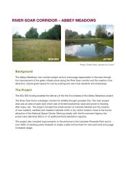 Select here to download the River Soar Abbey Meadows Project ...