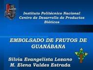 EMBOLSADO DE FRUTOS DE GUAN GUANÁ ÁBANA BANA - CEDAF