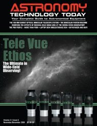 Cover Pages Issue 25.qxd:1 - Astronomy Technology Today