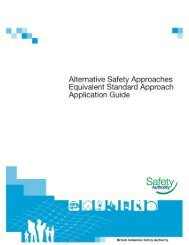 Equivalent Standard Approach Application Guide - BC Safety Authority